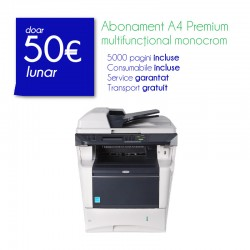 Abonament monocrom A4 Basic