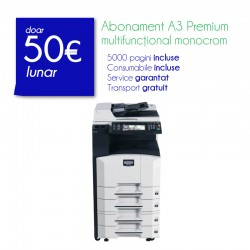 Abonament monocrom A3 Basic