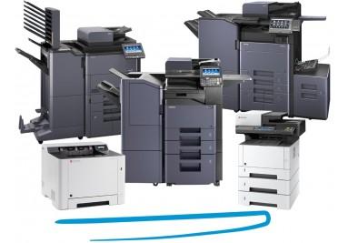 Echipamente Kyocera monocrom - Cele mai noi solutii de imprimare, copiere si scanare