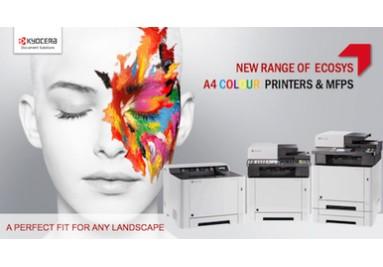 Noua gama de echipamente Kyocera Ecosys A4 color